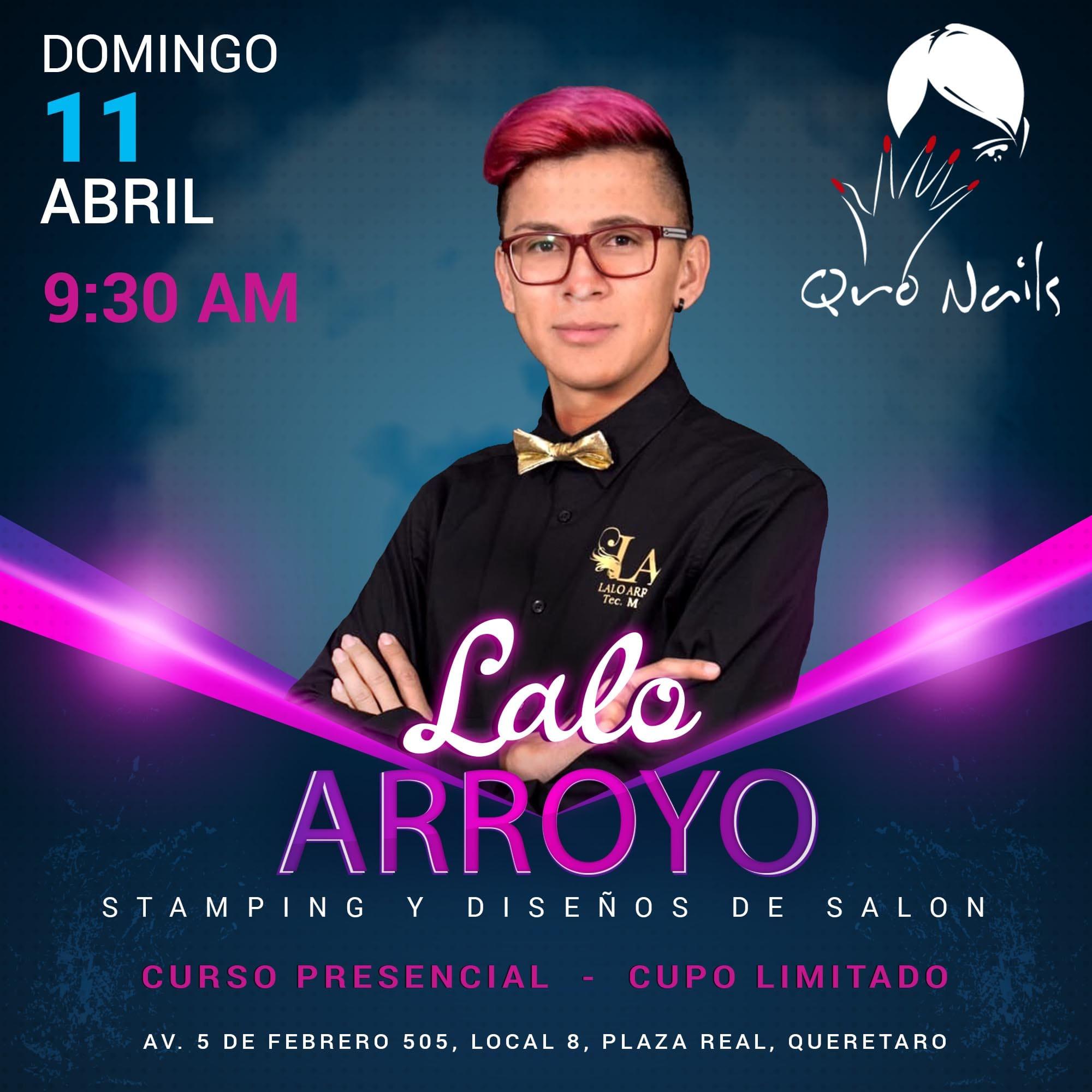 Flyer Lalo Arroyo