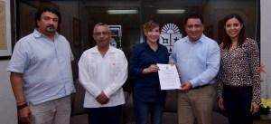 Lena Catalina González Hernández, recibió el nombramiento como nueva directora de Relaciones Públicas en sustitución de Jazmín Díaz Esquiliano