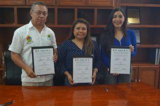 Firma IFEQROO convenio de colaboración con ayuntamiento de Tulum 2