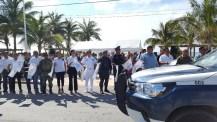 Arrranca operativo vacacional de verano en Puerto Morelos 2