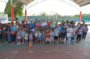 Inauguran autoridades en FCP los talleres recreativos de verano Baax Lo´ob Pala lo'ob 10