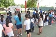 Inauguran autoridades en FCP los talleres recreativos de verano Baax Lo´ob Pala lo'ob 7