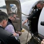 Ingresa Duarte al hangar de fuerza aérea de Guatemala en espera de su extradición 2