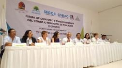 Instala Puerto Morelos el Consejo Municipal de Población 4