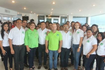 Rinde protesta Sebastián Escobedo Jiménez como presidente del Comité Ejecutivo Municipal del PVEM en Isla Mujeres 4
