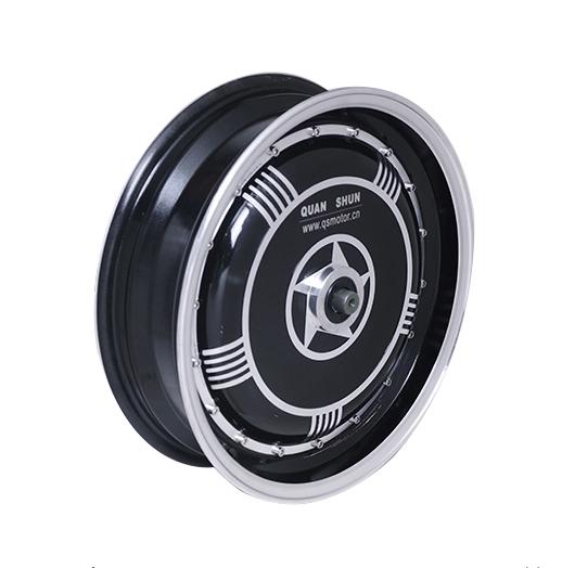 motors en las ruedas