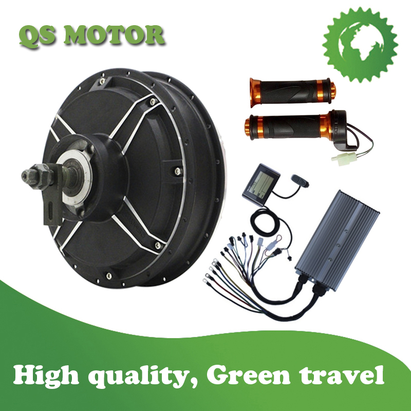QS Motor 3000w spoke hub motor and controller with LCD