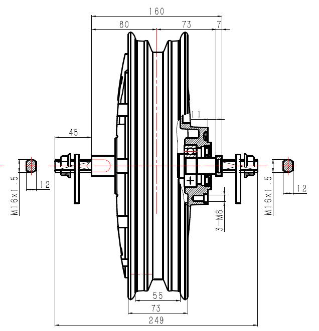 16''160mm