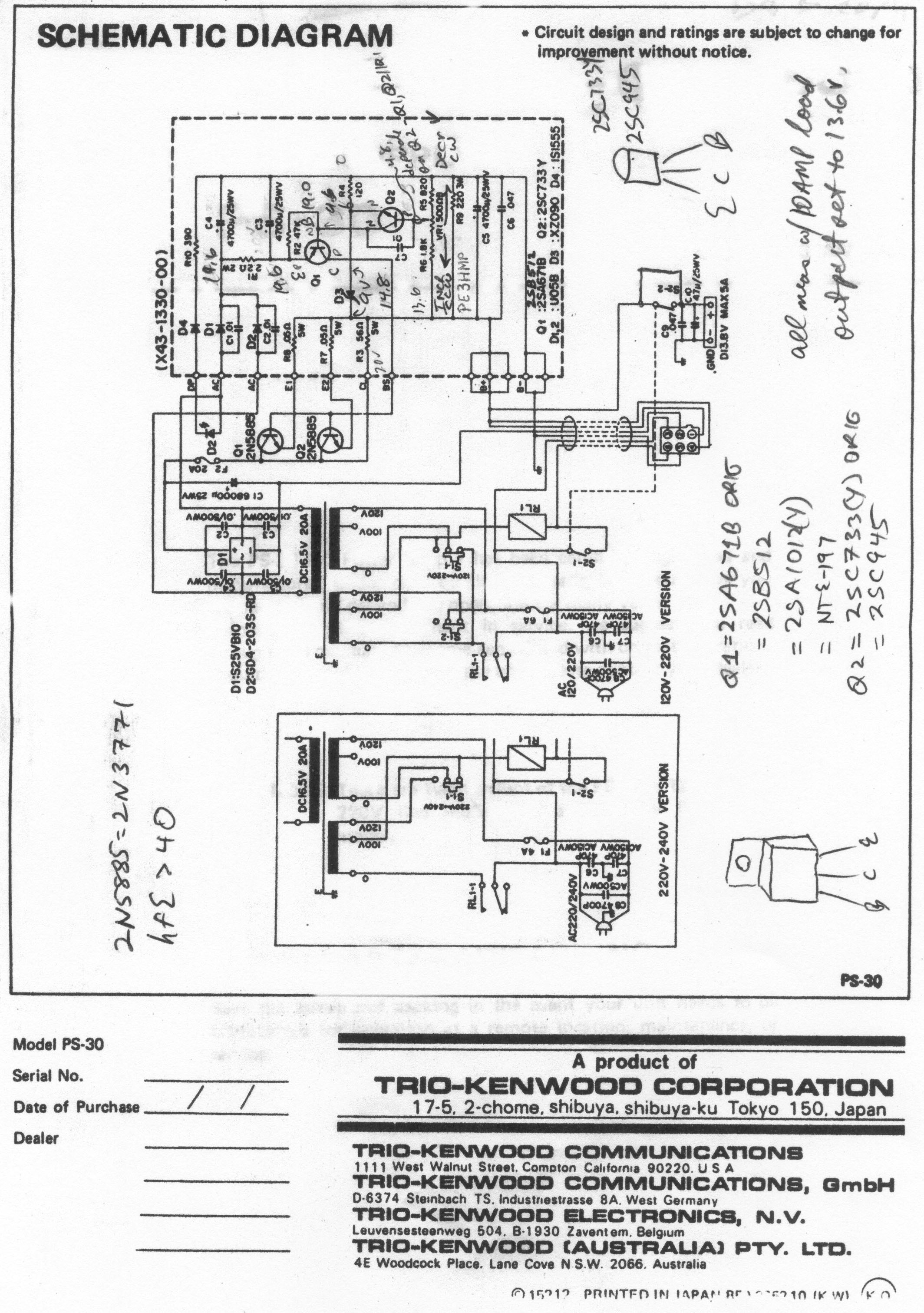 Pyramid Phase 3 Ps 7 Power Supply Schematic