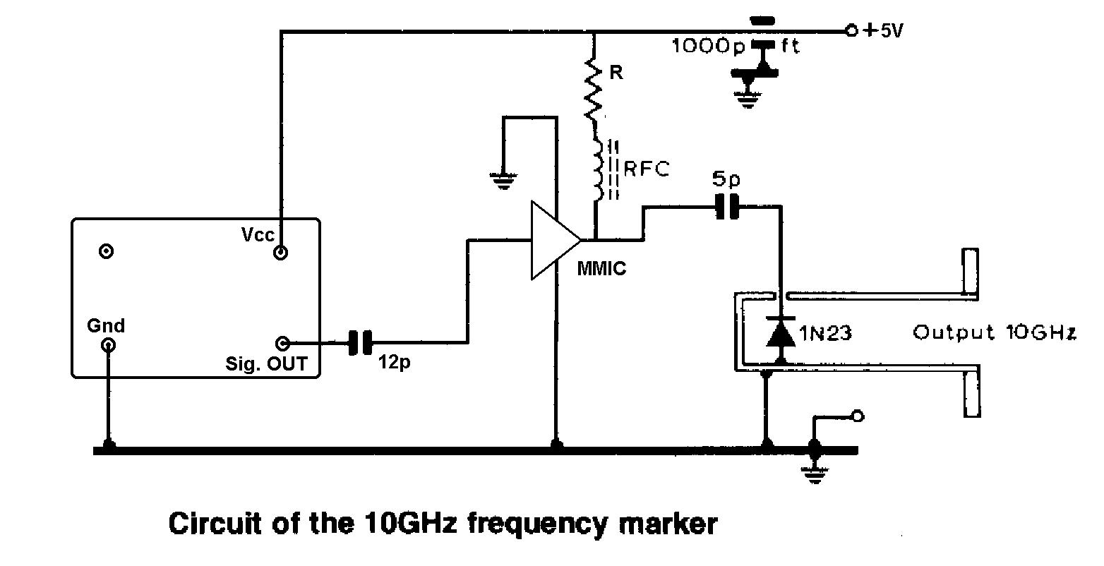 A Simple 10ghz Frequency Marker