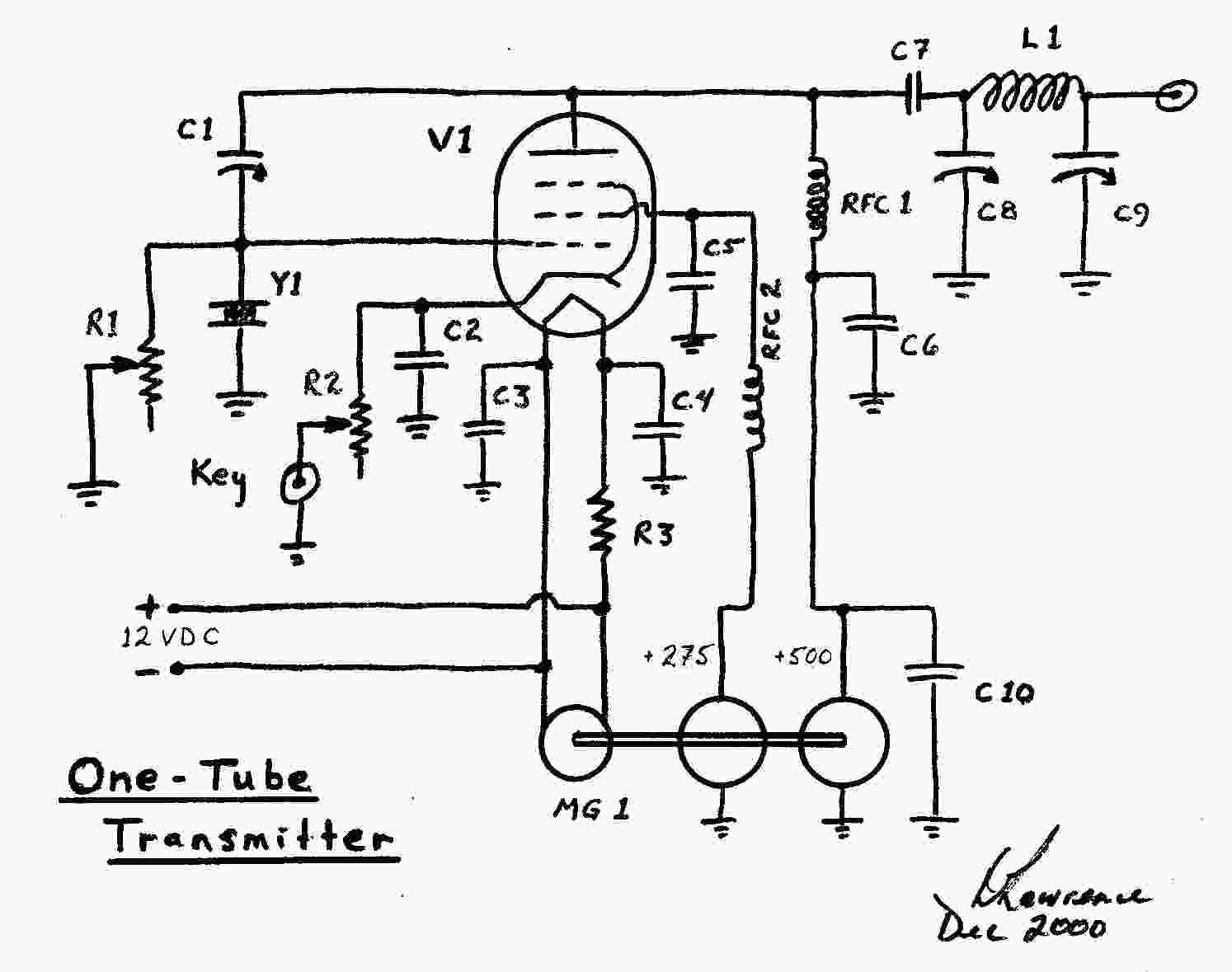 Zenith 10 Tube Radio Schematics