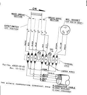 D  104 Microphone wiring information, mods and circuits