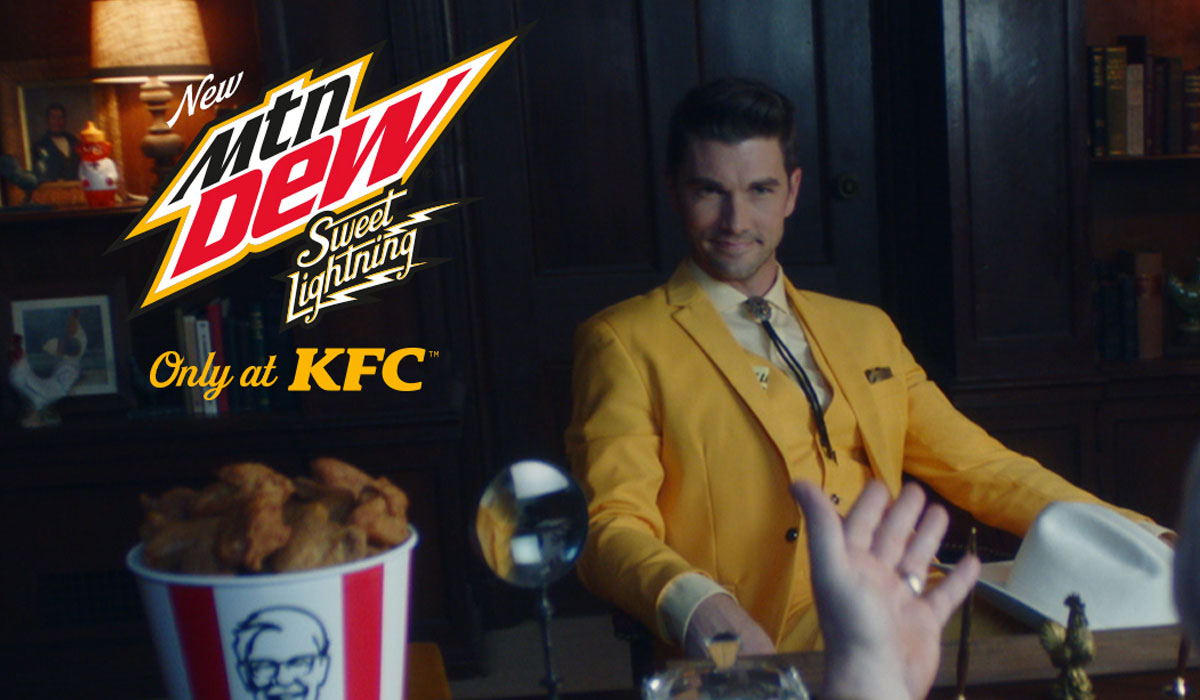 Kfc Launches First Exclusive Drink With Mountain Dew