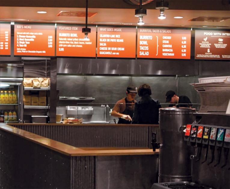 Fresh Food Fast Restaurant