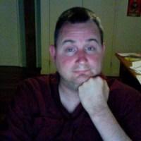 Terrible selfie of Tony Leggett