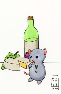 Brie pairs well with this mousie