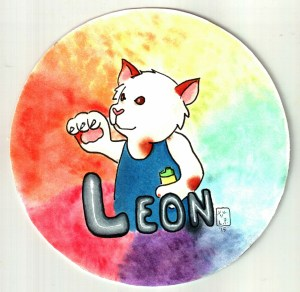 leon badge reprint