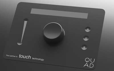 Quad Industries develops 3D touch-wheel button for Terasel research project