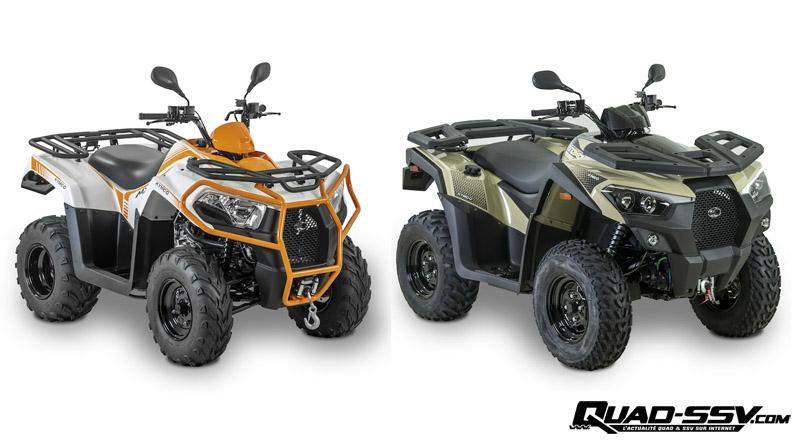 Nouveautés : Kymco MXU 300i / 550i modèles 2020