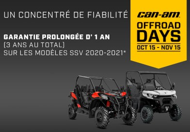 Les Can-Am Off-Road Days 2020