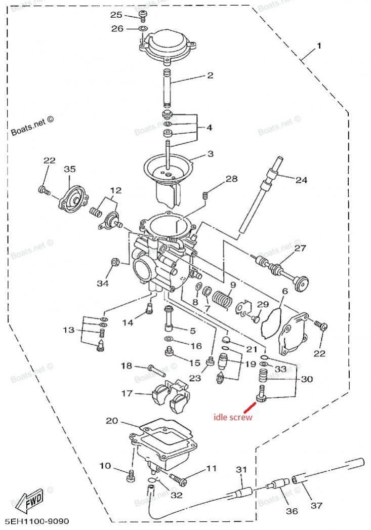 Yamaha Kodiak 400 Wiring Diagram 2001