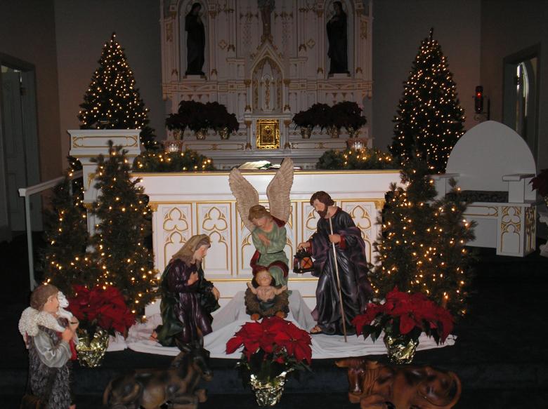 Decorating The Catholic Church For Christmas