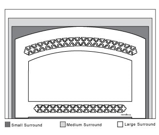 Gas Insert Surrounds