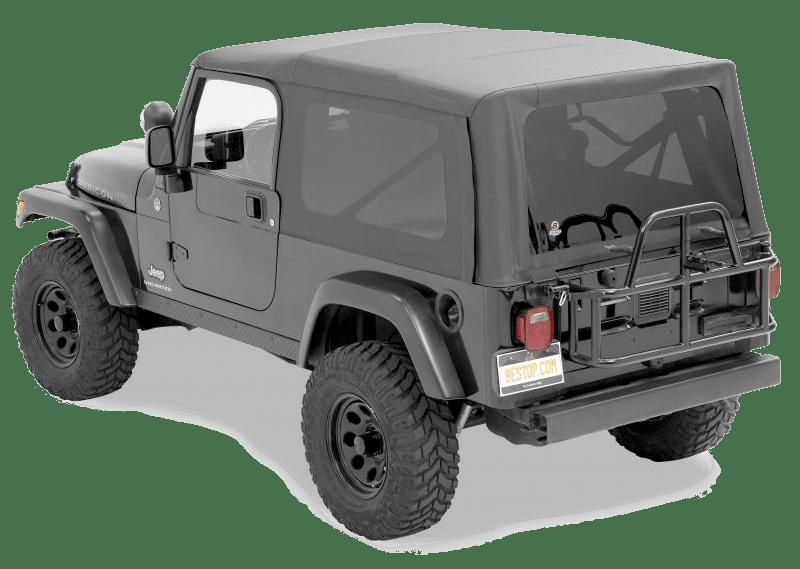 Green Jeep Wrangler Sport