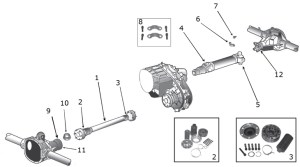 Jeep Liberty KJ Drive Shaft Parts ('02'07)   Quadratec