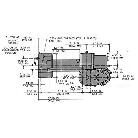 Wiring Diagram For Tarp Motor : Diagram of dump truck with tarp imageresizertool