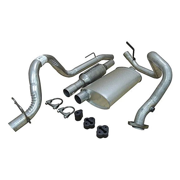 crown automotive complete oe exhaust kit