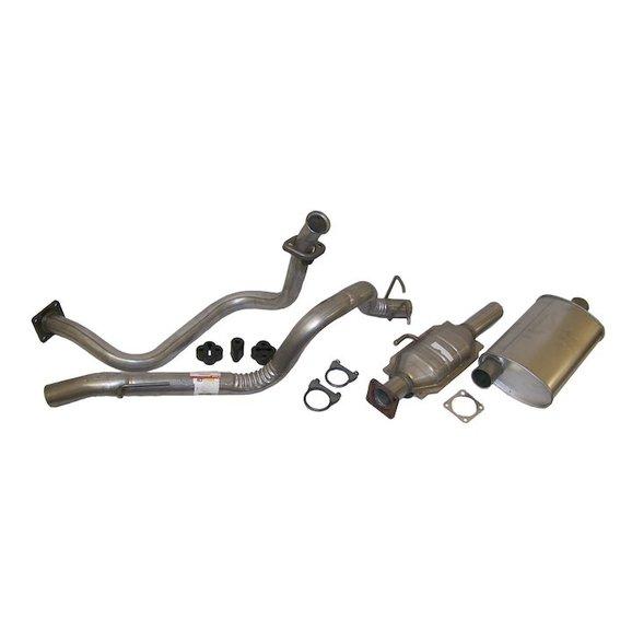 crown automotive complete exhaust kit