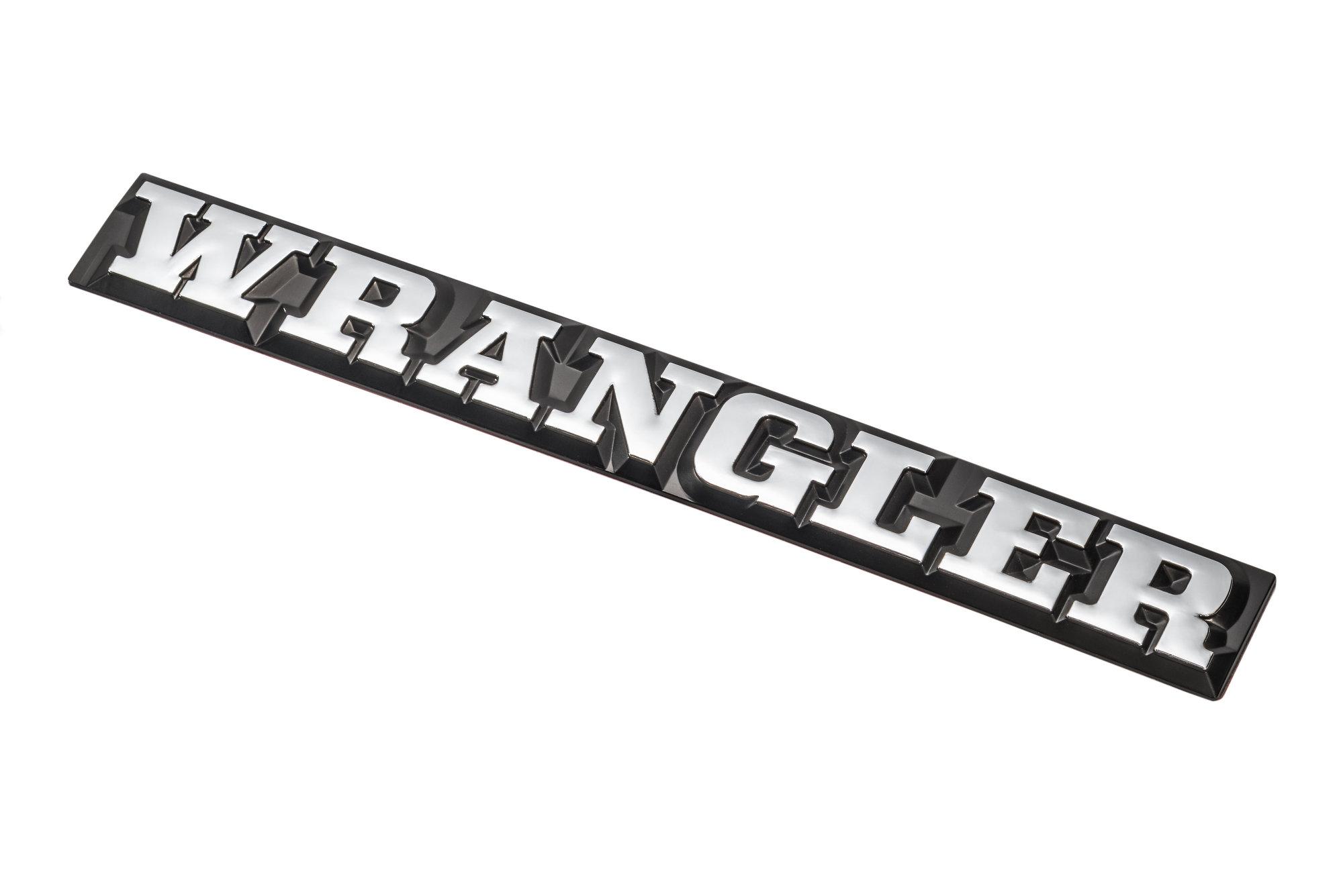 Omix Ada Dmc Wrangler Emblem For 87 90 Jeep