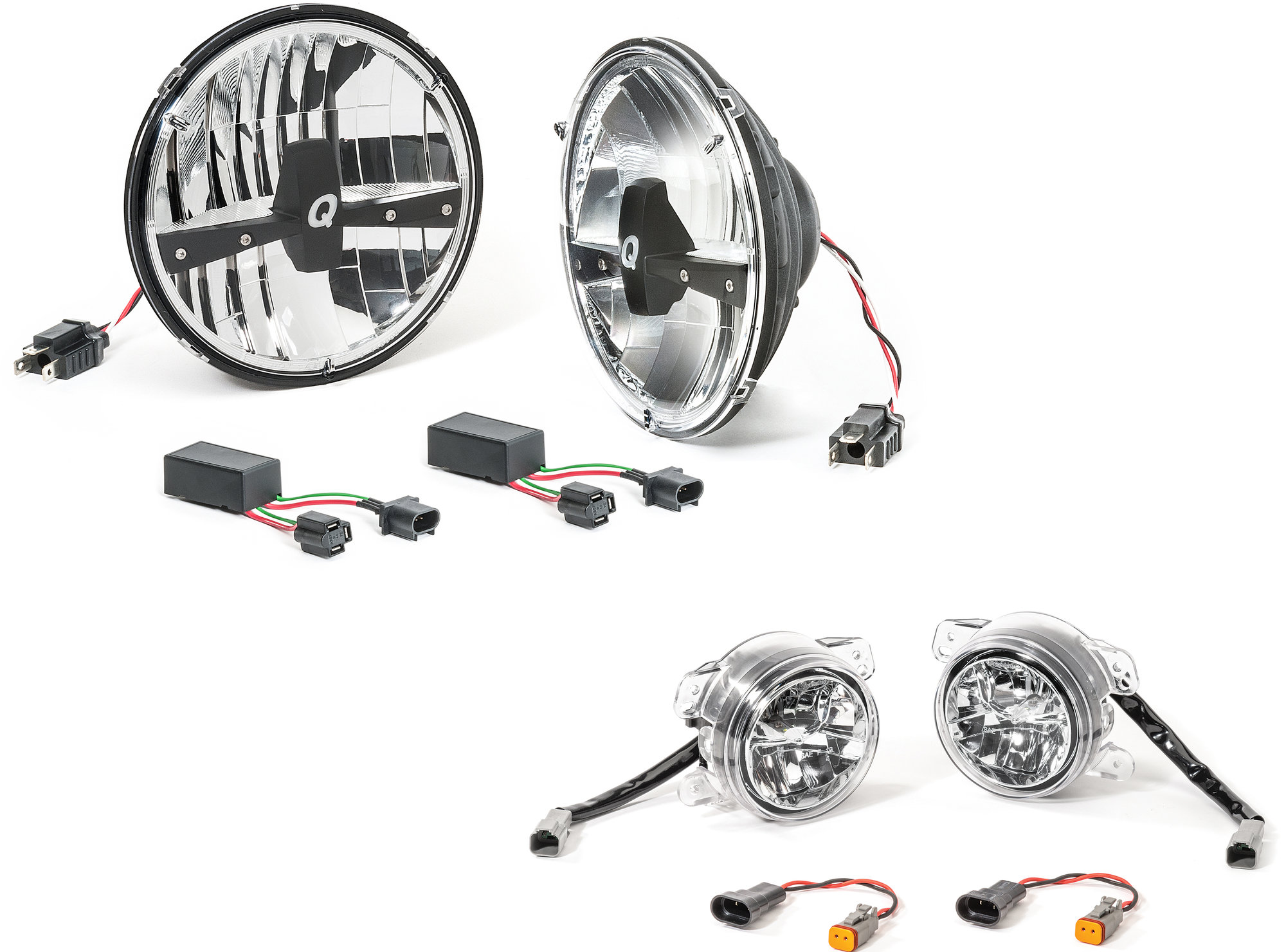 Quadratec Led Headlight Upgrade Conversion Amp Led Fog