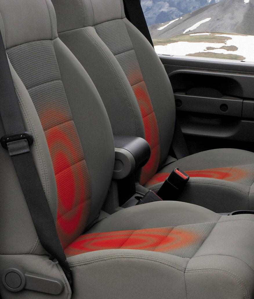 Mopar Heated Seat Kit For 07 10 Jeep Wrangler Jk Quadratec