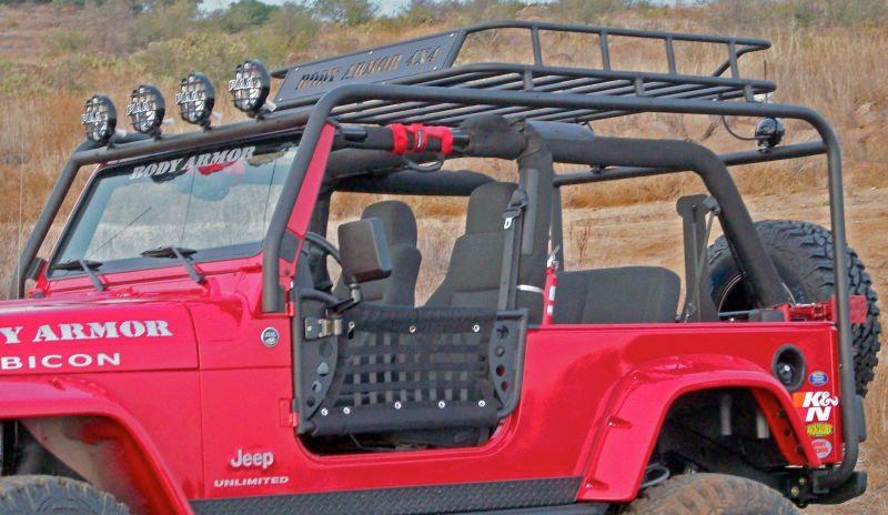 body armor roof rack base kit