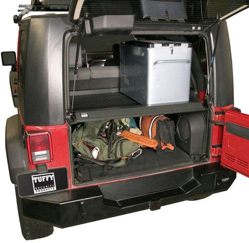 2007 Jeep Liberty Back Seat