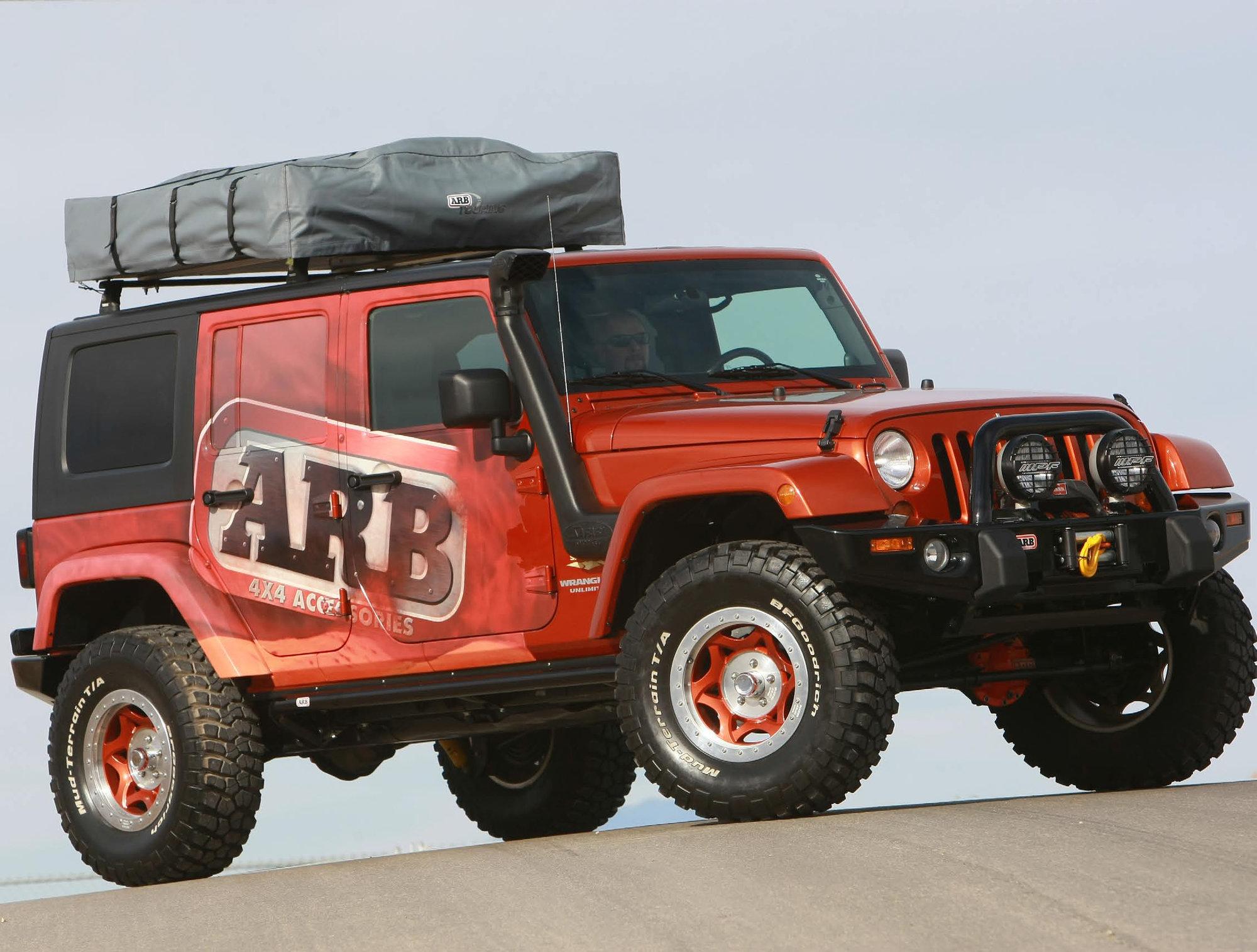 2002 Lifted Jeep Wrangler