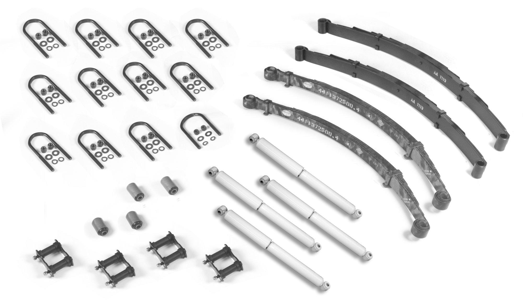 Omix Ada 04 Master Suspension Rebuilder Kit For 76