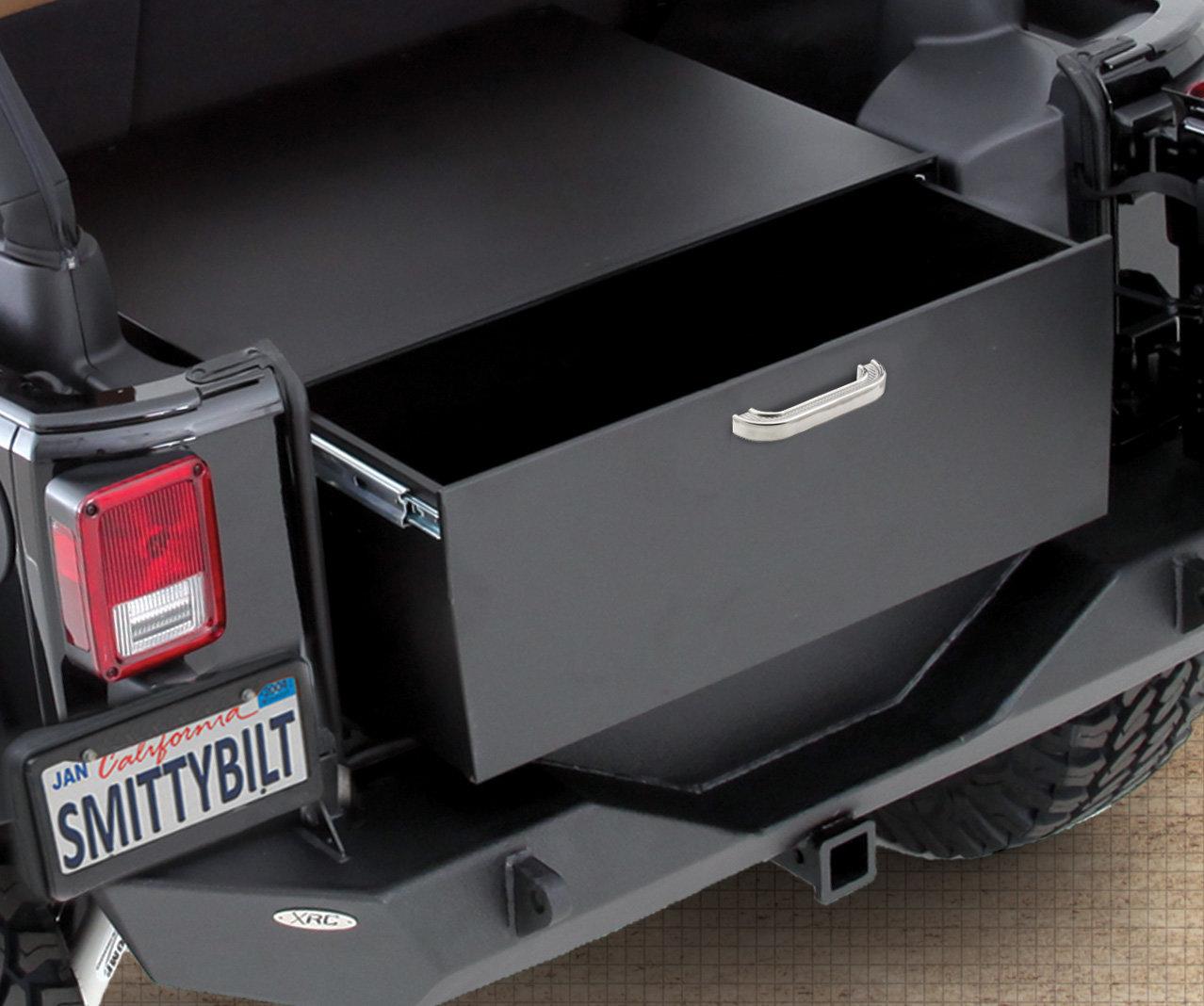 Smittybilt 2763 Security Storage Vault For 07 17 Jeep