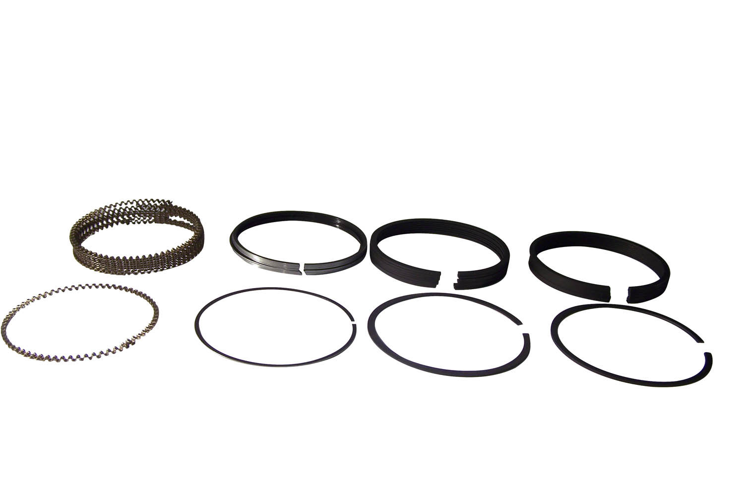 Crown Automotive Ac Single Engine Piston Ring Set
