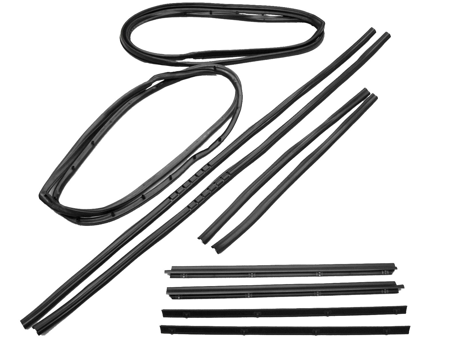 Fairchild Industries Kd Full Steel Door Seal Kit For 76 95 Jeep Cj 7 Scrambler Amp Wrangler