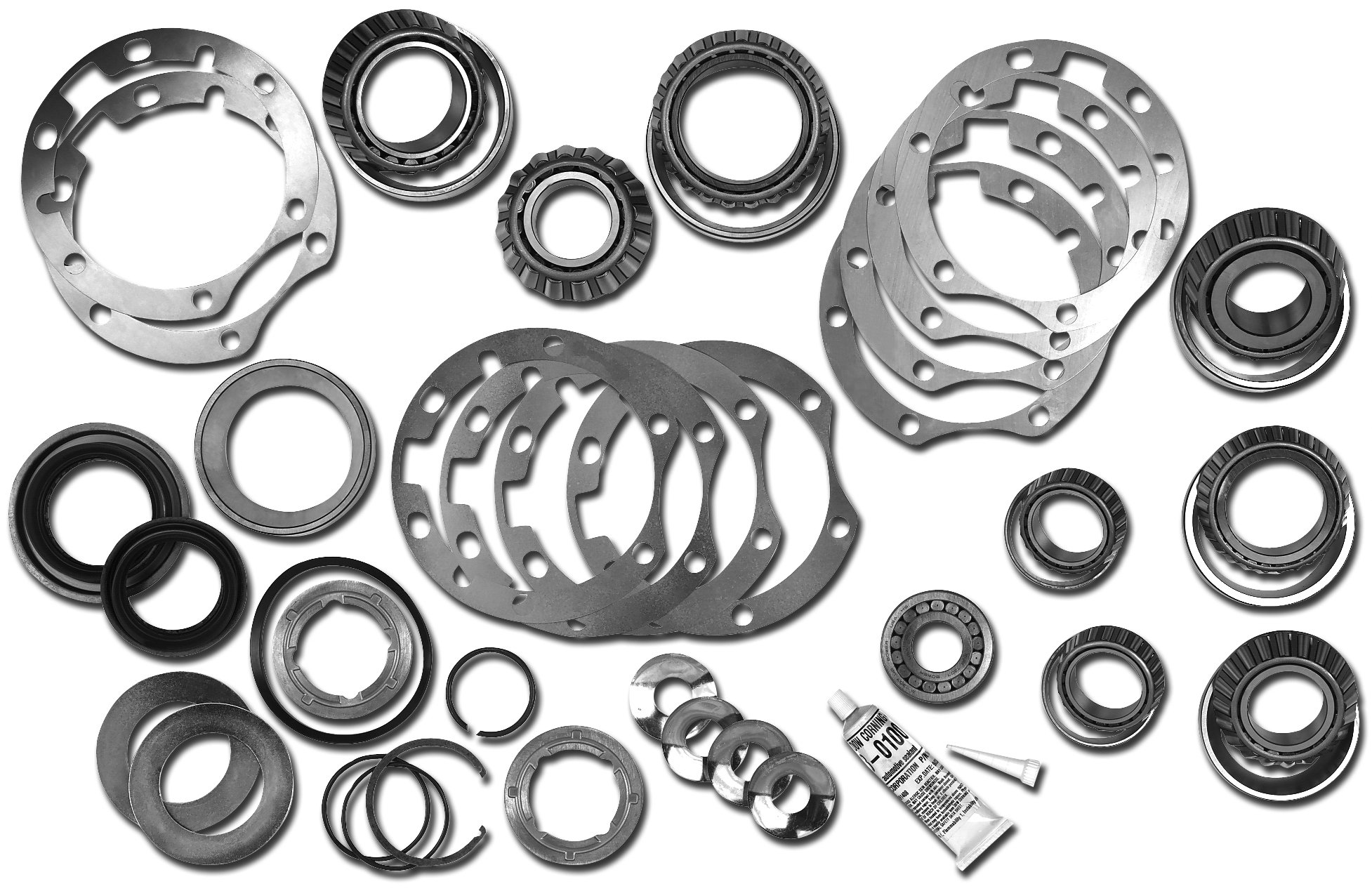 Dana Spicer Master Axle Overhaul Kit For Jeep Wrangler Tj With Model 30 Front Axle