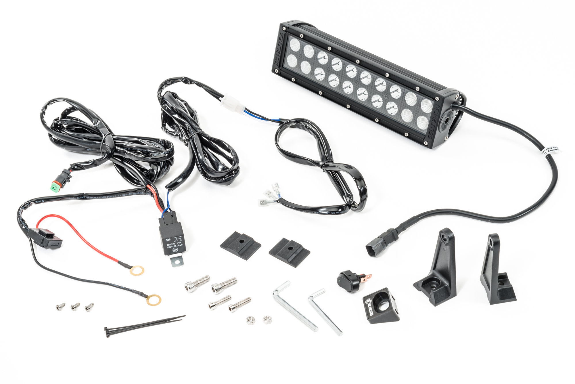 Kc Hilites C10 Led Combo Beam Light Bar With Harness