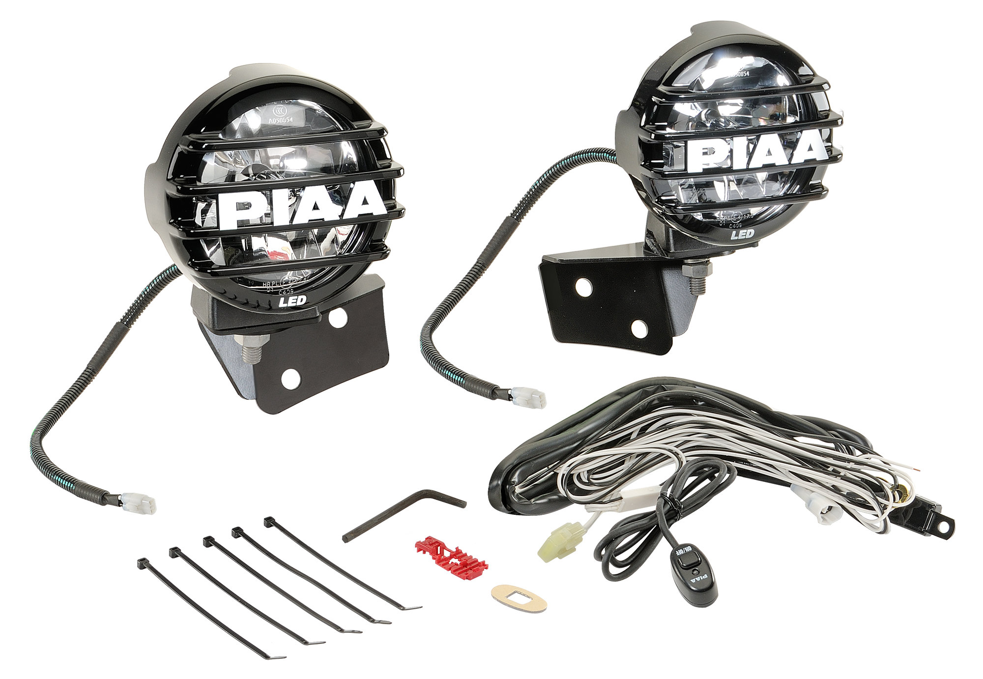 Piaa Lp550 Series 5 5 Led Lamps With Windshield
