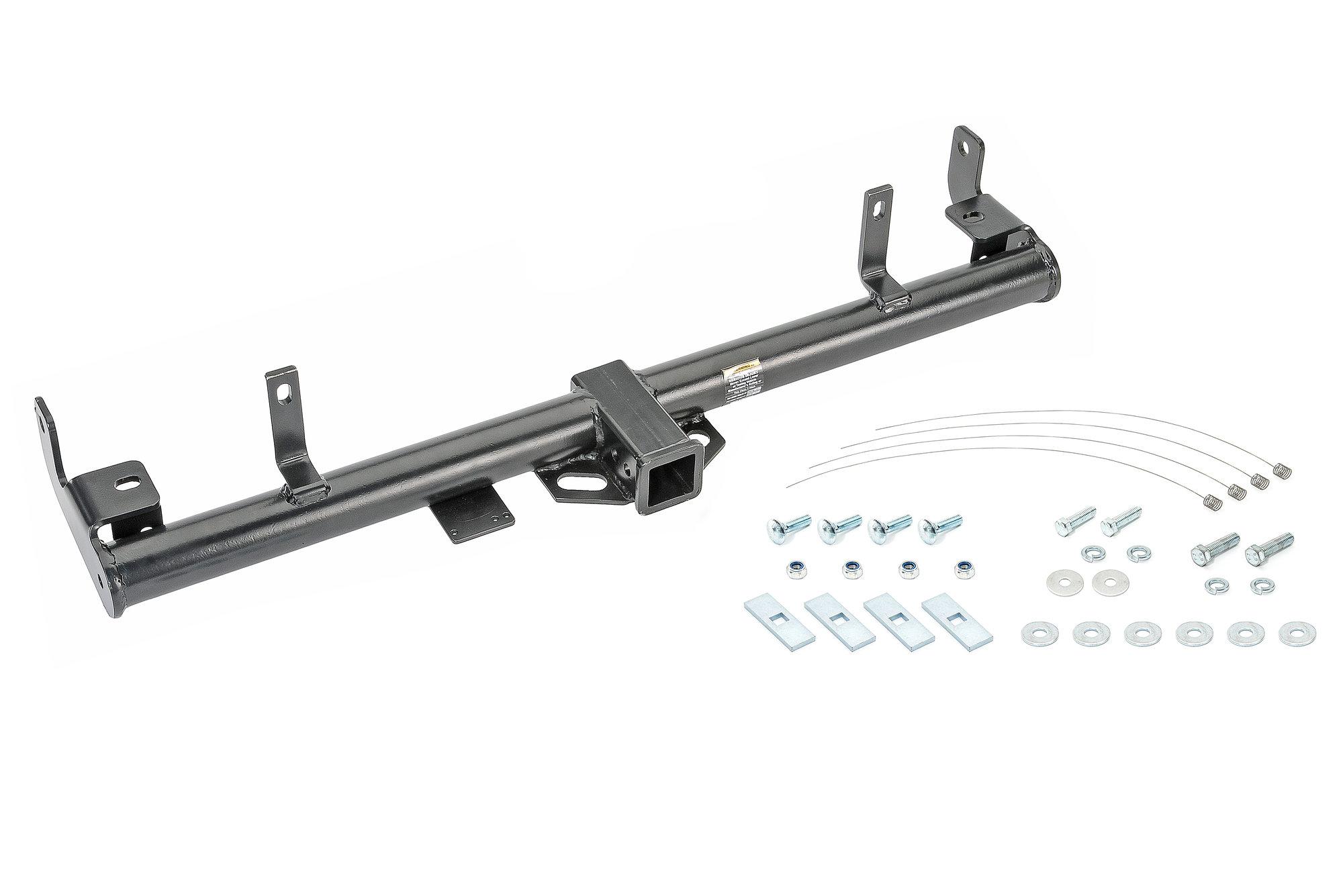 Quadratec Premium 2 Receiver Hitch Kit With Lightweight