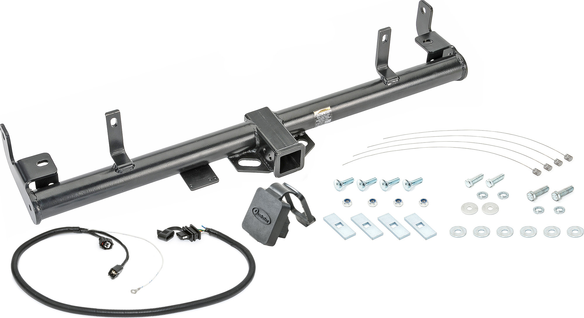 Quadratec Premium 2 Receiver Hitch With Wiring Kit