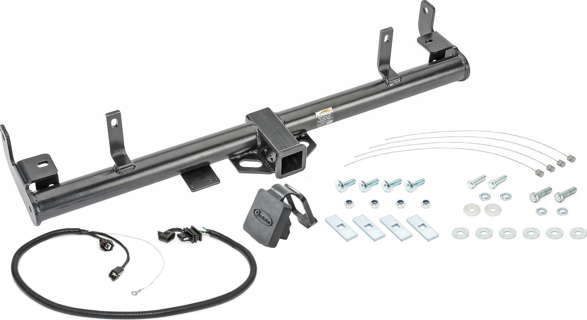 Quadratec Premium 2 Receiver Hitch With Wiring Kit