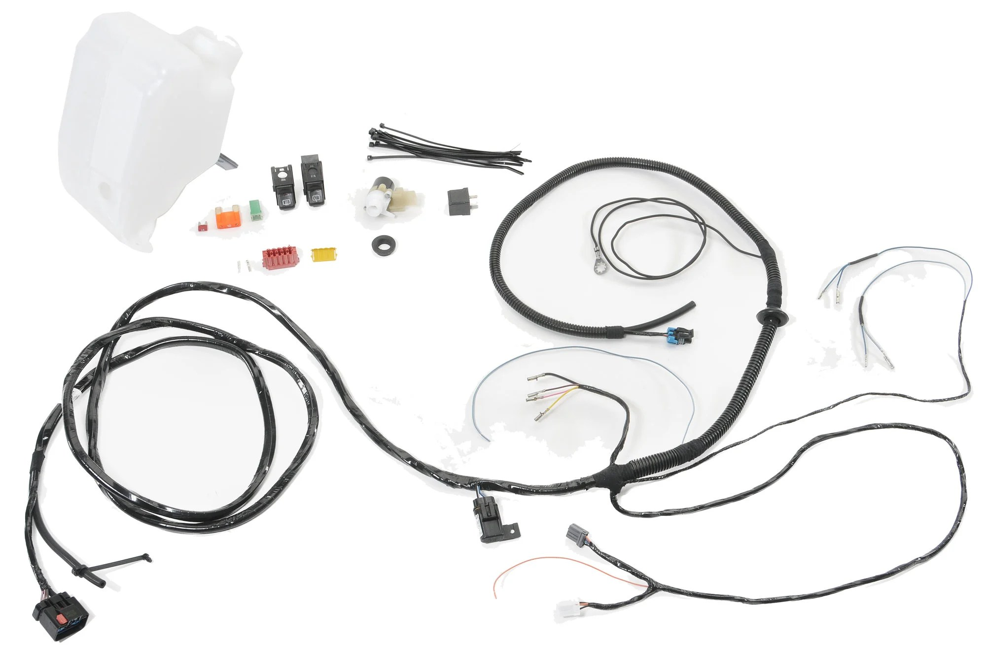 Mopar Hardtop Wiring Kit For 01 02 Jeep Wrangler Tj With