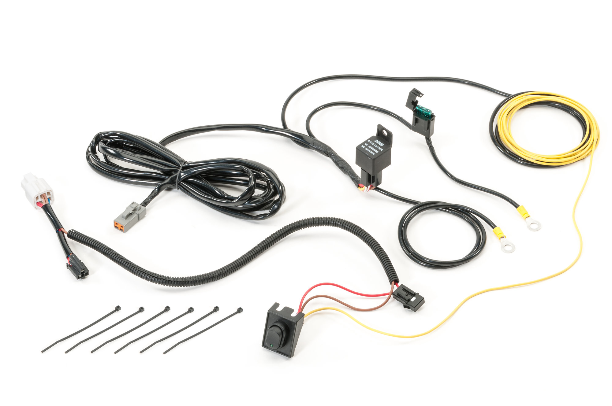 Quadratec 1 Circuit Auxiliary Light Harness For 20 26